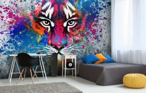 wall wrap, wall mural, wall decal, wall decor