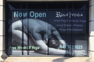 window wraps, window graphics, store front
